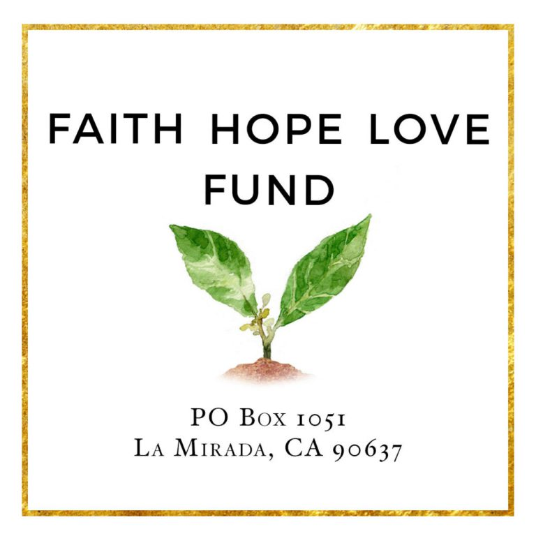 Faith Hope Love Fund
