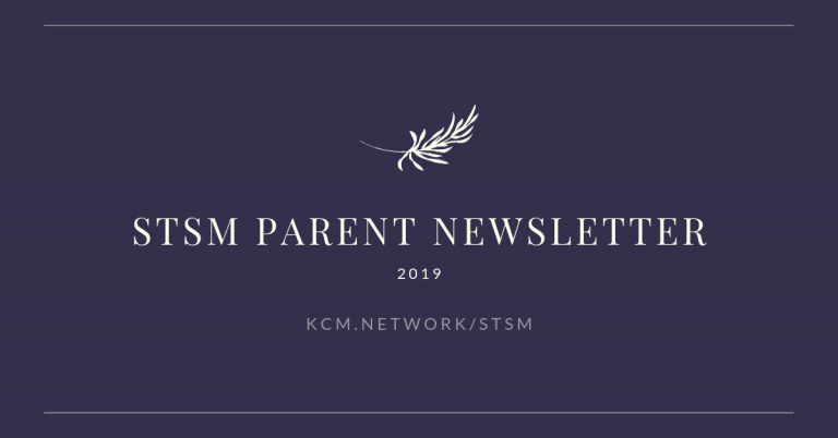 STSM Parent Newsletter 2019