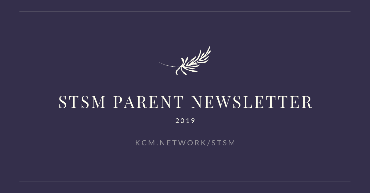 STSM Parent Newsletter 2019