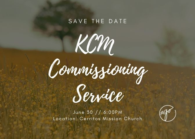 Commissioning Service 2019
