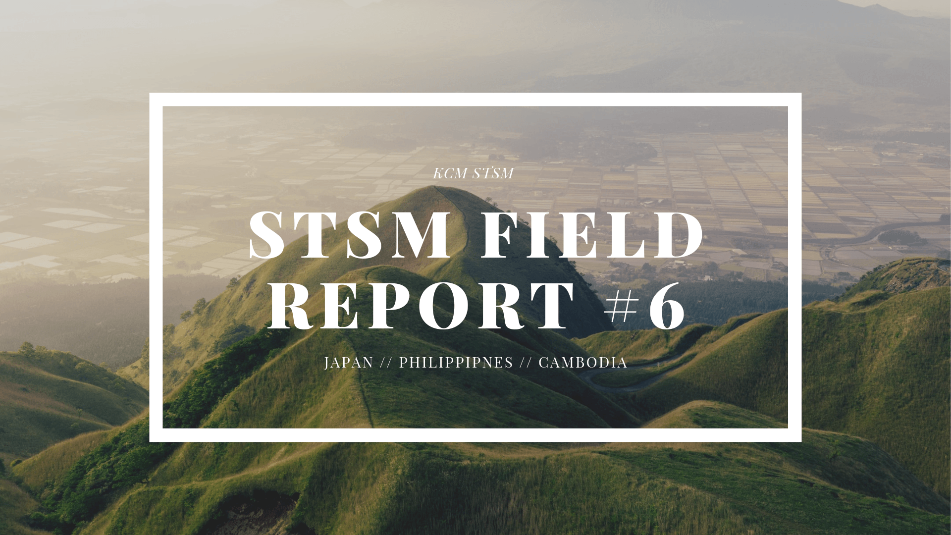 STSM Field Report #6 – Japan, Philippines, Cambodia