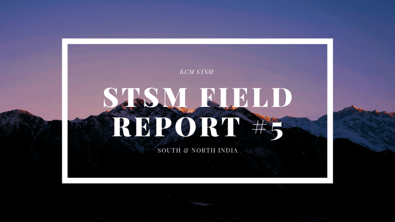 STSM Field Report #5 – North & South India #2