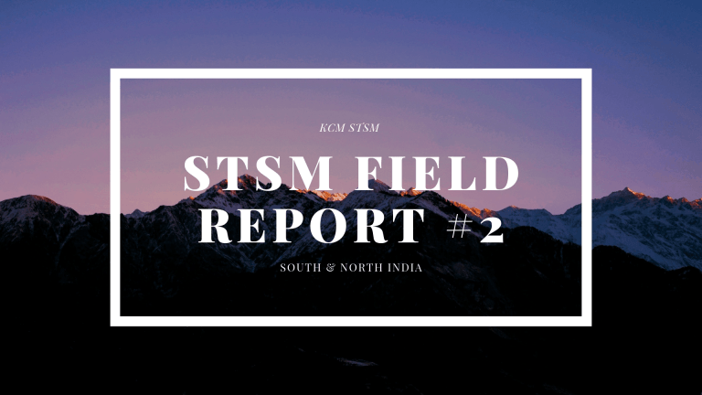 STSM Field Report #2 – North & South India