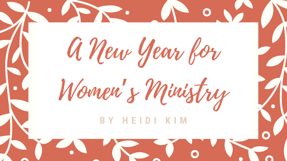 A New Year for Women's Ministry