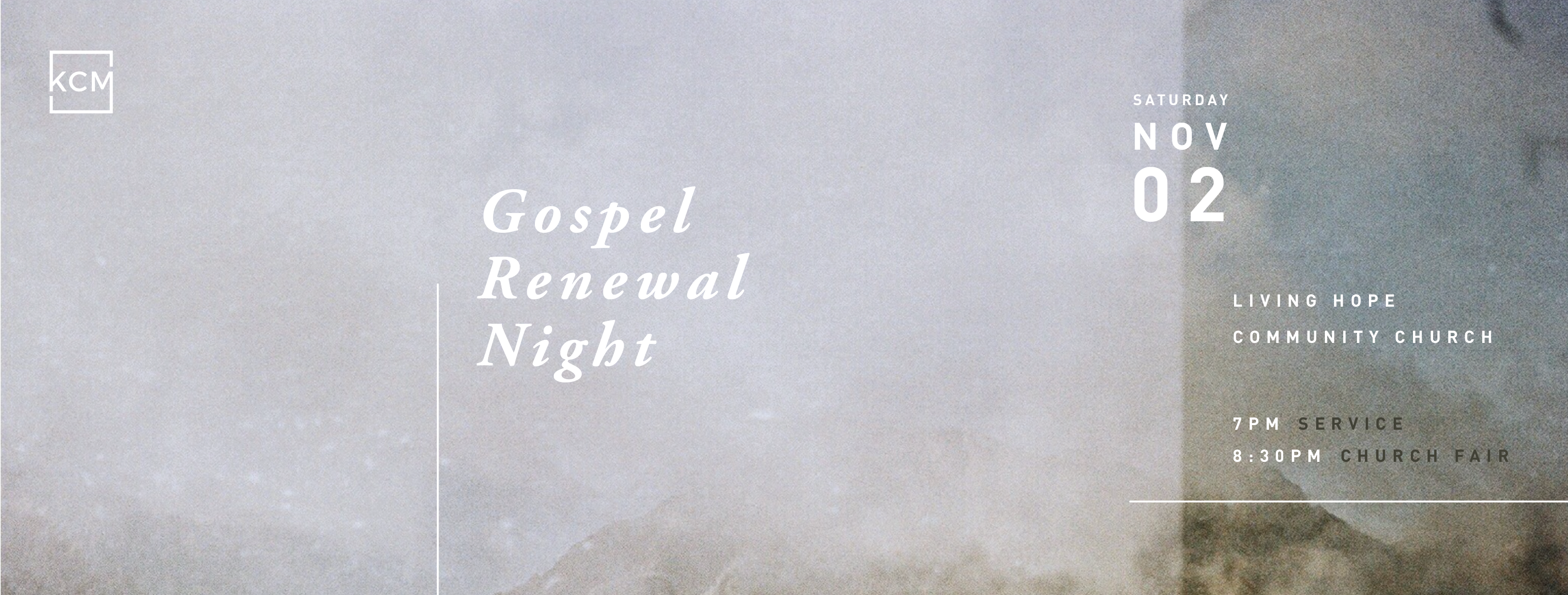 Gospel Renewal Night Testimony – Angie Lee & Paul Ji